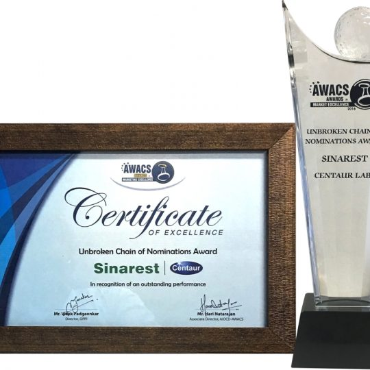 Sinarest wins 'Brand of the Year'