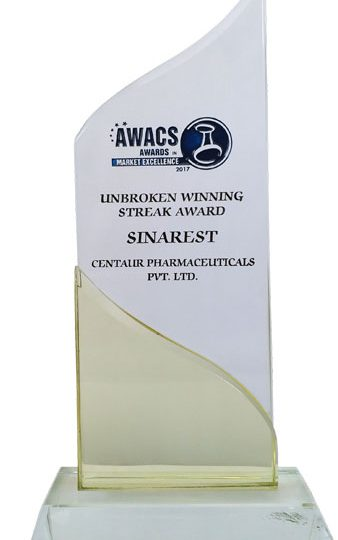 Uninterrupted  Winning Streak Award 2017 Trophy